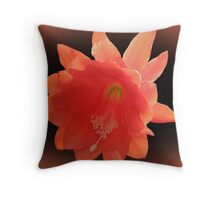 Orchid Cactus - Epiphyllum Ackermannii Throw Pillow