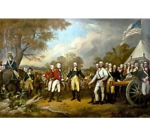 The Surrender of General Burgoyne Photographic Print
