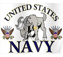 The Navy Goat Poster