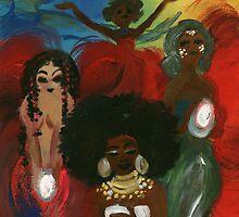 Orisha Goddesses by SoleilSmile