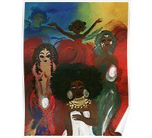 Orisha Goddesses Poster