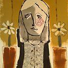 Lady of flowers by RogerFarquart