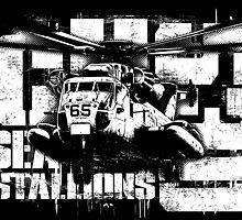 CH-53 Sea Stallion by deathdagger