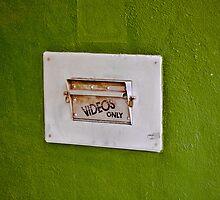 No Trash, Bottles, Tampons, Syringes, Plastics, Medical Waste by Peter Maeck