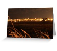 Serenity at night Greeting Card