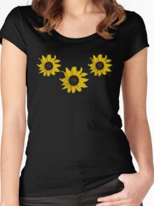 Black Eyed Susan Tee  Women's Fitted Scoop T-Shirt