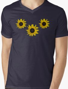 Black Eyed Susan Tee  Mens V-Neck T-Shirt