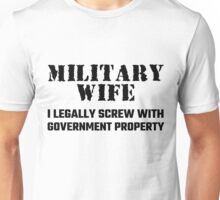 Military Wife Unisex T-Shirt