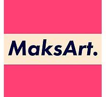 OG MaksArt Logo Photographic Print