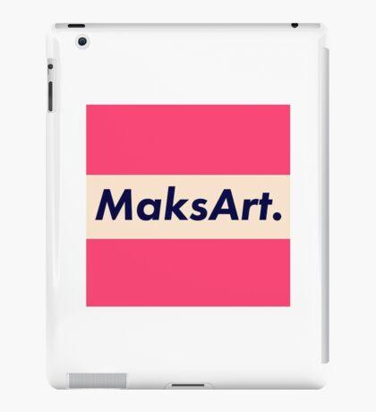 OG MaksArt Logo iPad Case/Skin