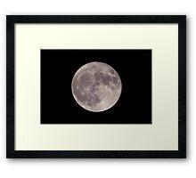 My Super Full Moon ...Too Framed Print