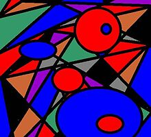 Distracted By The Abstract (For BingoStar) by Deborah Lazarus