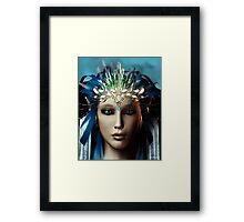 Elvin Queen Portrait Framed Print