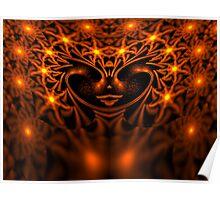 The Escher Fire Fairy Queen Poster