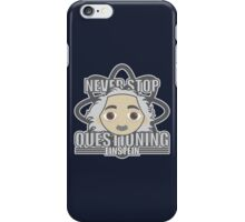 EINSTEIN HEAD iPhone Case/Skin