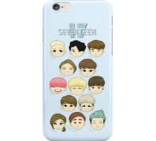 SEVENTEEN Chibi Heads iPhone Case/Skin