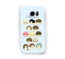 SEVENTEEN Chibi Heads Samsung Galaxy Case/Skin