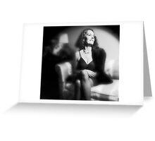 Lynn - Film Noir Style Greeting Card