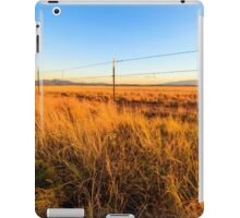Barbed Wire Fence iPad Case/Skin