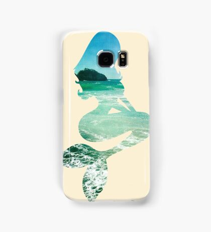 Mermaid ocean beach boho cool trendy pretty design Samsung Galaxy Case/Skin