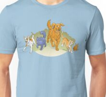 Pets on the March shirt Unisex T-Shirt