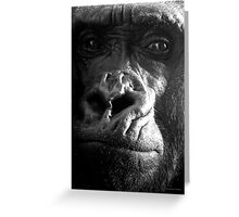 """KONG"" Greeting Card"