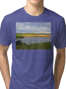 The Land Beyond The Water..................Ireland Tri-blend T-Shirt