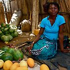 Watermelon seller by Gigi Guimbeau