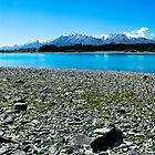 Lake Tekapo Panorama by Courtney McIntyre