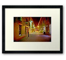 """Midnight on Kennedy Lane"" Framed Print"