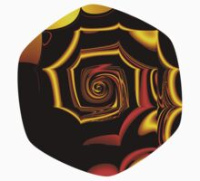 TGS Fractal Abstract 3 Baby Tee