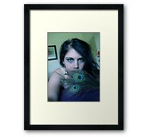 Feather Fantasy Framed Print