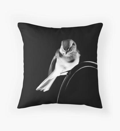 American Tree Sparrow #2 Throw Pillow