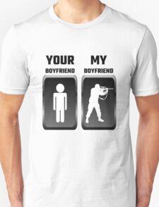 Your Boyfriend My Boyfriend Military Unisex T-Shirt