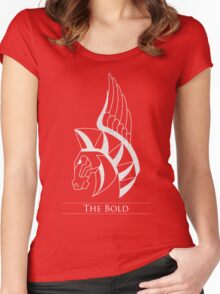 The Bold Women's Fitted Scoop T-Shirt