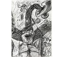 hand battle Photographic Print