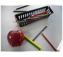 Apple for the Teacher Poster