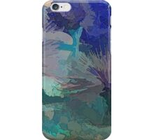 EVENING IN THE BLUE DESERT, PALM SPRINGS CA iPhone Case/Skin