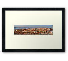 Lisbon. Framed Print