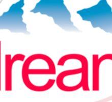 Dream (pocket logo) Sticker
