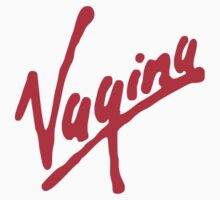Vagina (for light shirts) by cubik
