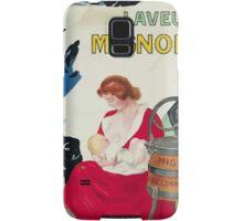 Leonetto Cappiello Affiche Laveuse Mignon Samsung Galaxy Case/Skin