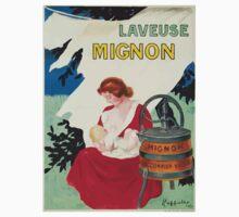 Leonetto Cappiello Affiche Laveuse Mignon One Piece - Short Sleeve