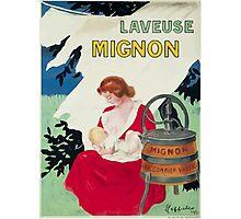 Leonetto Cappiello Affiche Laveuse Mignon Photographic Print