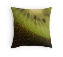 Furry Fruit Throw Pillow