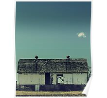 Antique old barn Poster