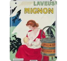 Leonetto Cappiello Affiche Laveuse Mignon iPad Case/Skin