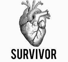 Heart Health Survivor Unisex T-Shirt