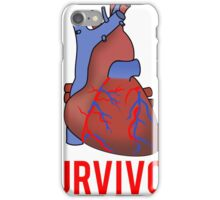 Heart Health Survivor iPhone Case/Skin
