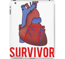 Heart Health Survivor iPad Case/Skin
